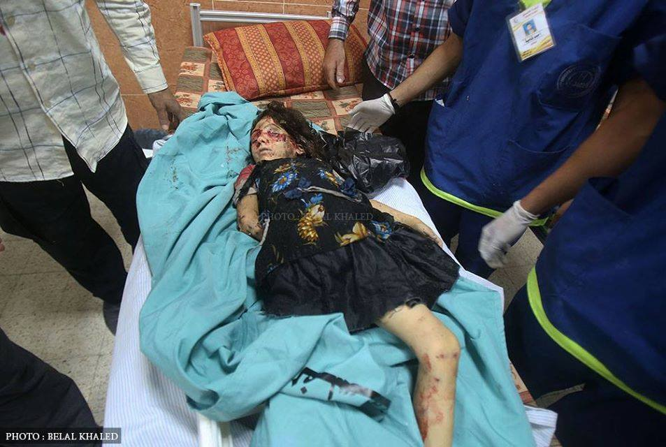 Photo of Raving Regime martyr one more 6 year-old child in Gaza..