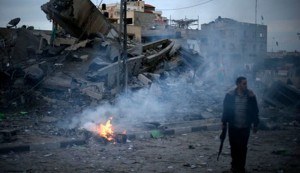 Israel renews airstrike on Gaza Strip; 2 injured