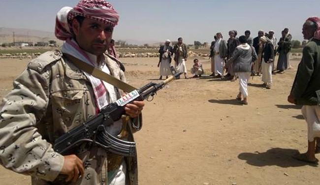 Photo of Houthi fighters capture city near Yemeni capital