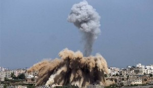 Hamas fires rockets amid Israeli airstrikes on Gaza