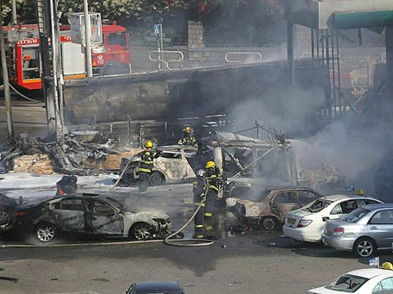 Photo of BREAKING- The rocket that hit Ashdod gasoline station by Gaza Resistance