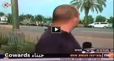 Photo of VIDEO- Zionists' cowardice on live