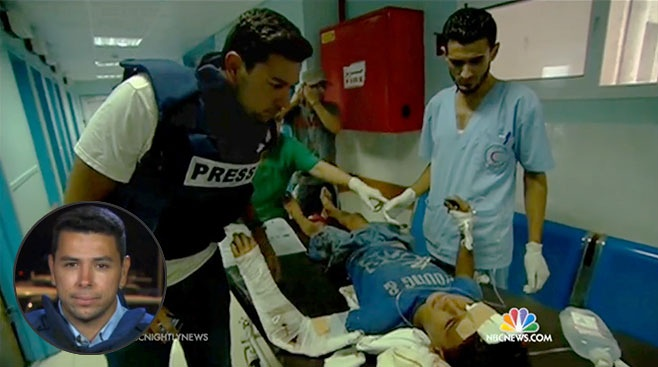 Photo of NBC News Reporter Told to Leave Gaza Immediately After Reporting 'Israeli' Massacre of Children