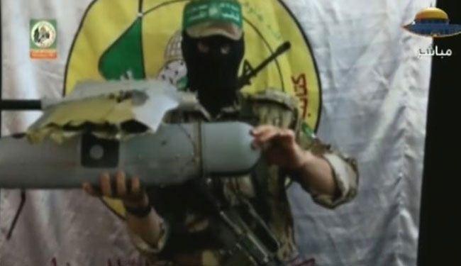 Photo of Hamas reveals photos of downed israeli UAV in Gaza..