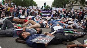 Photo of Pro-Gaza sit-in to be held in front of UK Cabinet Office