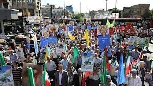 Photo of Millions observe International Quds Day across Iran