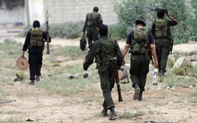 Photo of Qassam Brigades attack zionist squad near Shujjaiya Border with heavy weapons, KILL 10 ZIONISTS, INJURE 18..