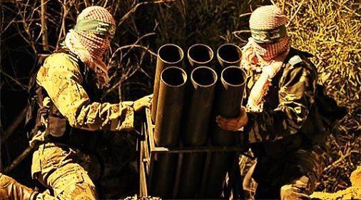 Photo of BREAKING- Qassam Brigades bombing eastern of Jabalia