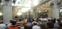 Photo of VIDEO: Muslims in The Holy Aqsa Mosque praying for Gaza..