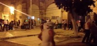 Photo of VIDEO: Clashes at The Holy Mosque Al-Aqsa's Khıtta gate