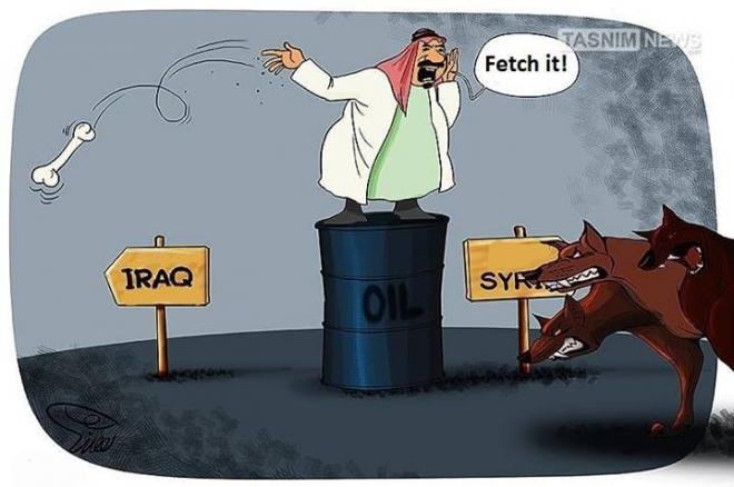 Photo of Caricature: zionist Saudi King