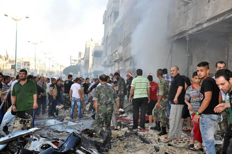 Photo of Turkey, Israel, Qatar, KSA, US, Jordan, West-backed, armed, financed terrorist bombing in Homs