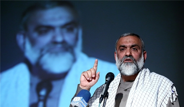 Photo of Basij Commander: No Limitations for Iran's Aids to Palestinians