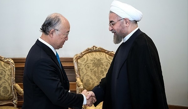 Photo of President Rouhani: Iran's Missile Program No Issue for Talks