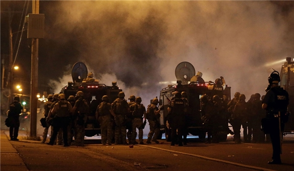 Photo of The same Companies Supplying both Weapons Fired in Ferguson and Gaza