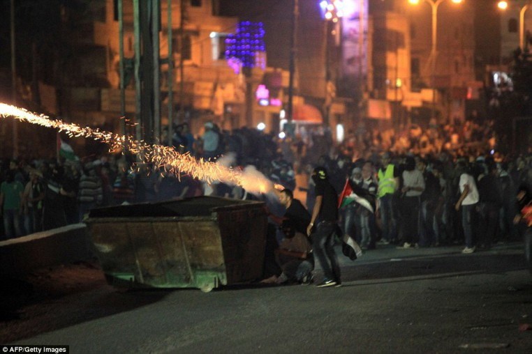 Photo of Violent clashes began between Palestinians and zionist forces in West Bank provinces and Jerusalem