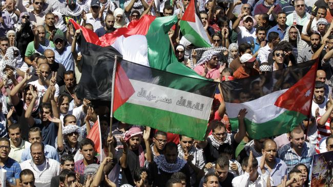 Photo of Jordanians protest against Israel aggression in Gaza