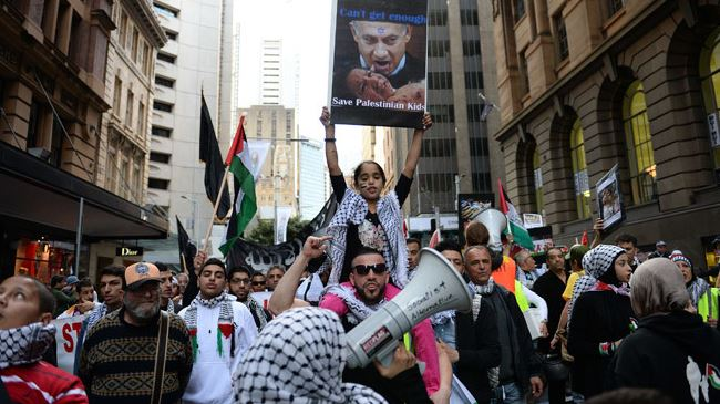 Photo of 1000s of Australians hold anti-Israel demo in Sydney