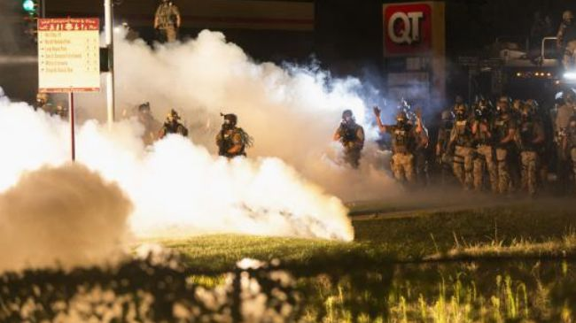 Photo of Police militarism in America