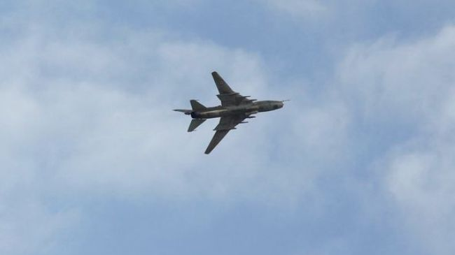 Photo of Syrian jets bomb ISIL positions in Raqqa Province