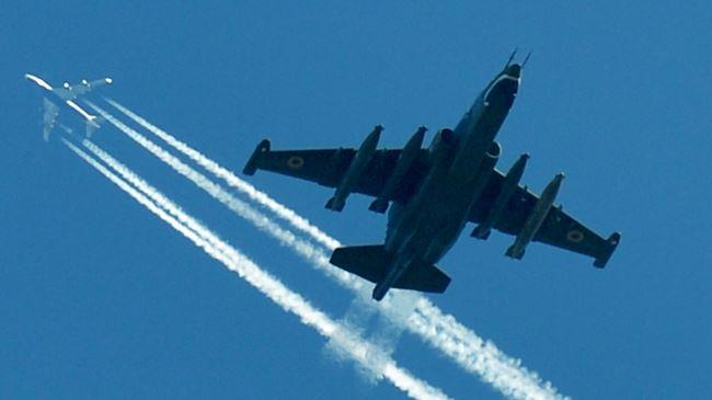 Photo of Pro-Russians down Ukraine jet near Lugansk