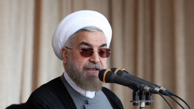 Photo of Iranian president slams 'murderous' Israeli regime
