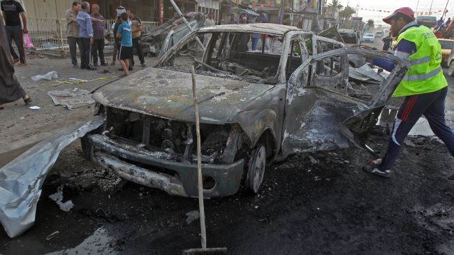 Photo of 10 killed in Baghdad car bomb blast
