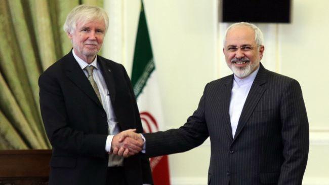 377214_Iran-Finland-Zarif