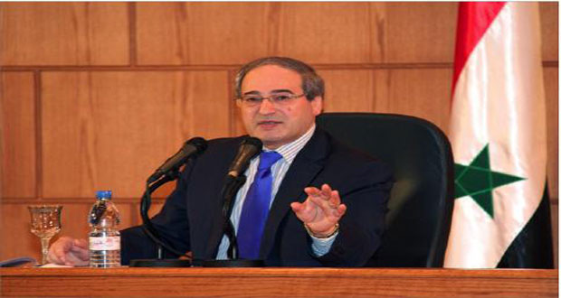 Photo of Syrian Deputy Foreign Minister: Palestine will remain Arab nation's central issue