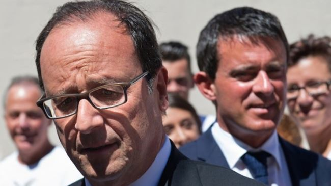 Hollande orders PM to form new cabinet amid feud
