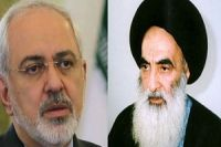 Iran foreign minister meets Iraq's senior cleric