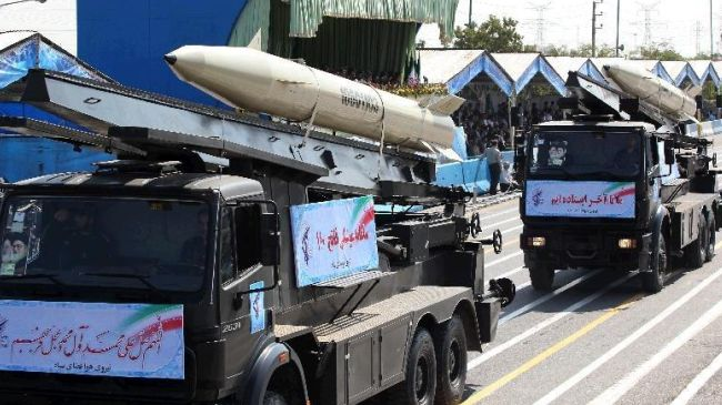 Iran test-fires indigenous missile system
