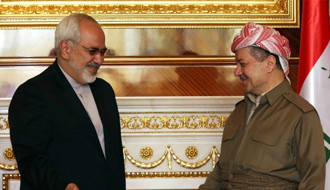 Barzani: Iran was the first that helped Kurds against ISIL