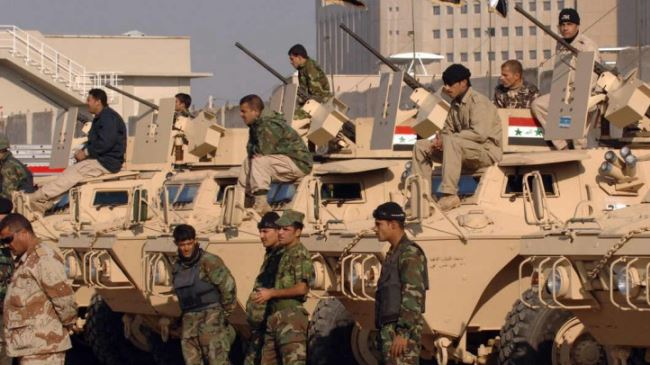 Iraq army recaptures al-Hamra village