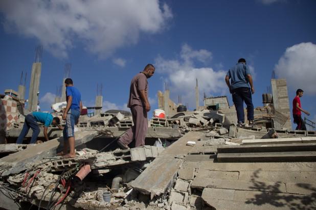 Gaza under attack, 26.7.2014
