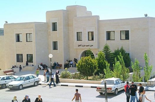 Israeli Occupation Forces detain a number of Palestinian students after storming their dormitory near Birzeit University