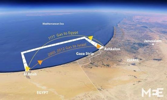 Photo of Major gas deal that would see reverse of gas flow between Egypt, Israel