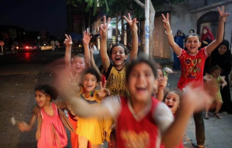 Palestinians celebrate resistance victory as long-term Gaza ceasefire reached