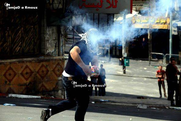Photos from confrontations in Hebron today.