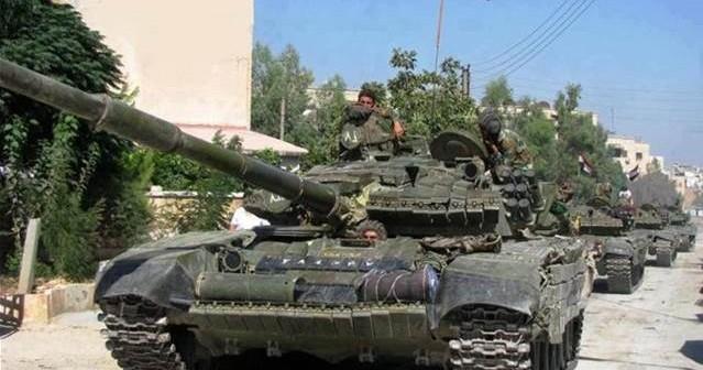 Syrian Arab Army Storms Jaysh Al-Islam's Stronghold