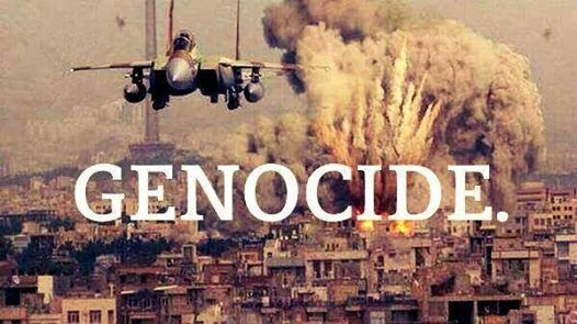 Photo of This is called genocide!