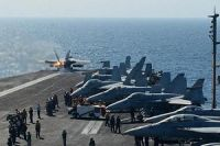 US planes fly over Syria to prepare airstrikes against ISIL