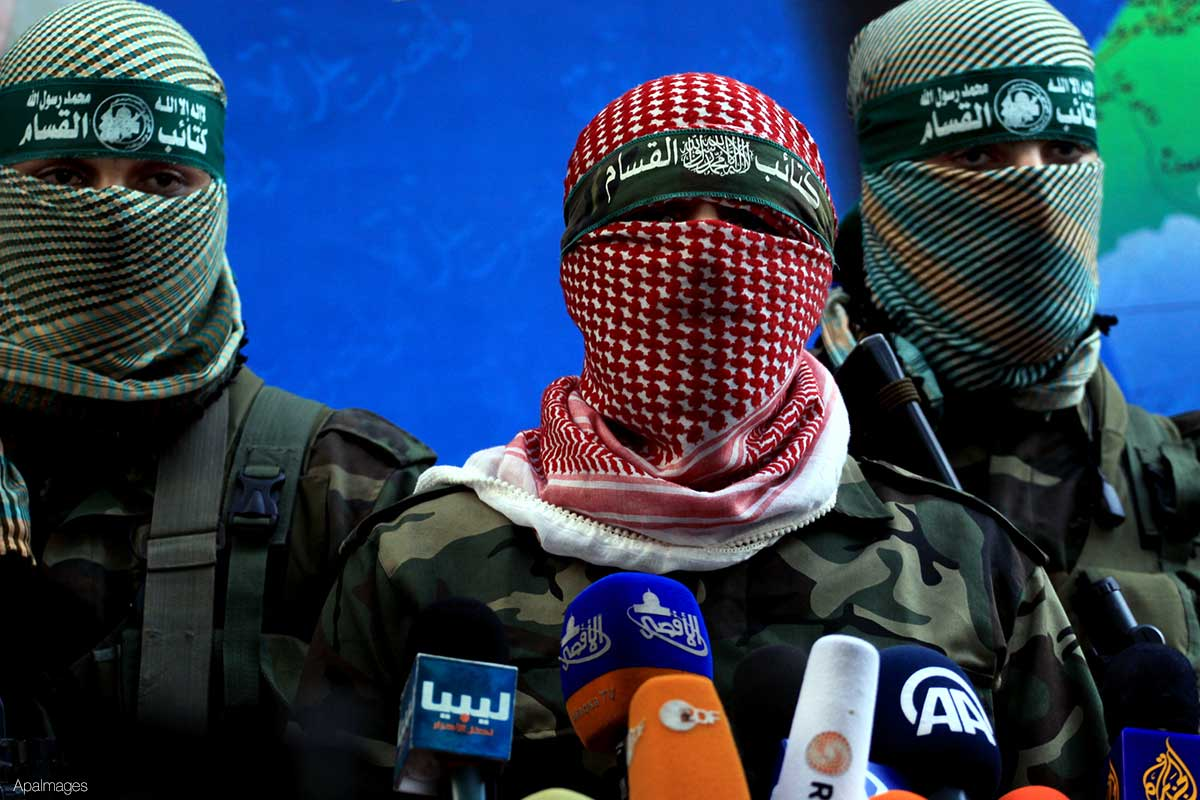 Photo of zionist newspaper: Assassinating Al-Qassam leaders will not weaken Hamas
