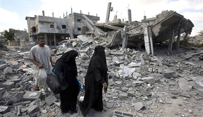 Gaza residents return to shattered homes ahead of truce talks