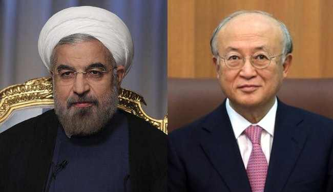 Photo of Rouhani, Amano to meet in Tehran over nuclear issue