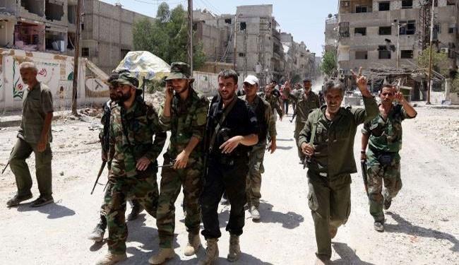 Photo of Syrian Army destroys Qalamoun bomb making plant