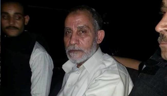 Egypt clears death sentence of Brotherhood top leader