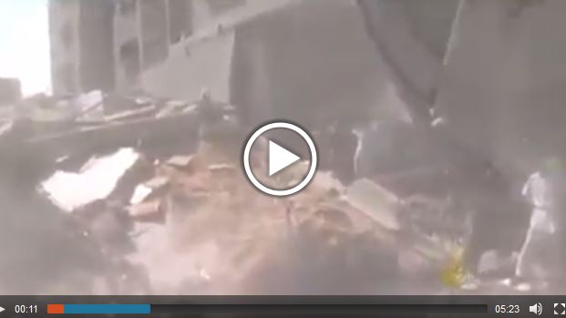 Photo of VIDEO shows Qassam mosques in Gaza is completely destroyed