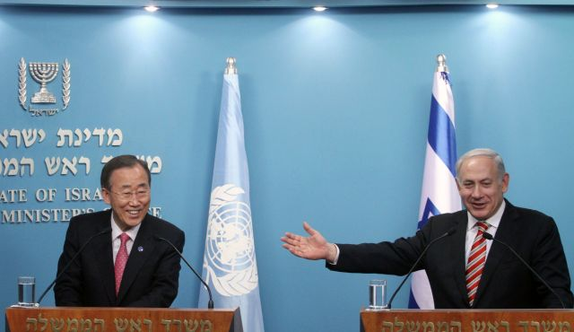 Photo of zionist puppet Ban ki Mon blames HAMAS for ceasefire violation..