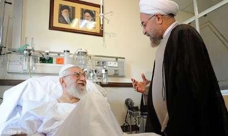 Photo of Leader of Islamic Ummah Imam Khamenei prays for success of President Rouhaniˈs govˈt